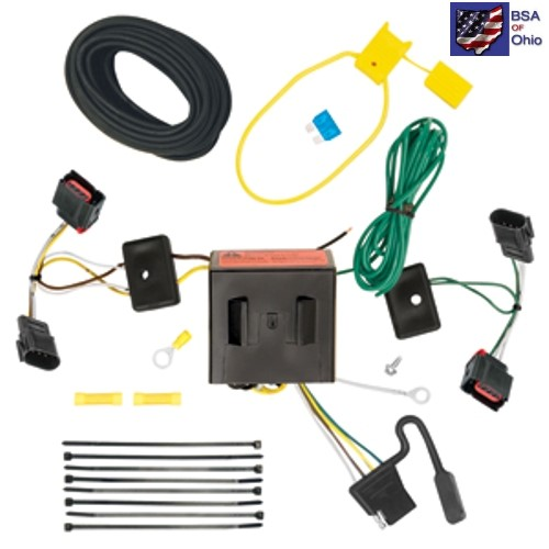 Details about Trailer Hitch Wiring Tow Harness For Jeep Patriot 2012 on jeep wrangler trailer wiring harness, jeep grand cherokee trailer wiring harness, jeep patriot hitch kit, jeep patriot trailer wiring kits,