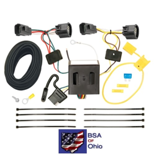 Trailer Hitch Wiring Tow Harness For Dodge Nitro 2007 2008